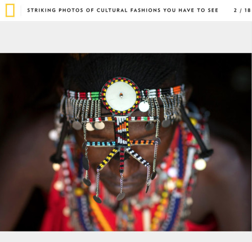 Nat Geo - Cultural fashion
