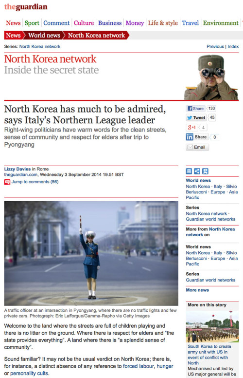 The Guardian - NK network