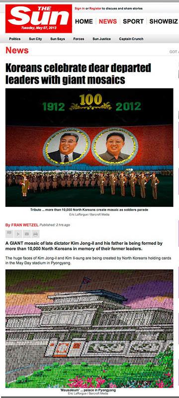 The Sun - Arirang in NK